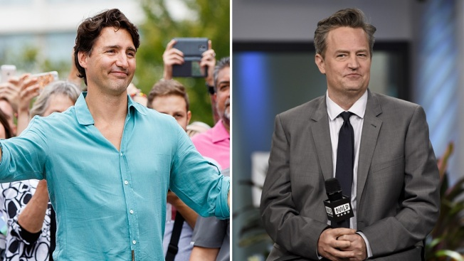 April Fools: Trudeau Jokes He'll Fight Actor Matthew Perry in Rematch
