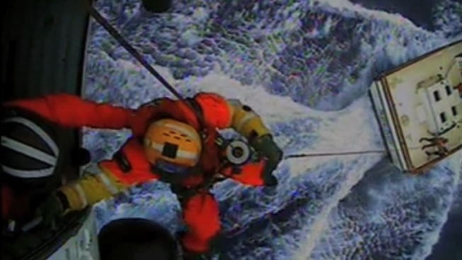 Coast Guard Crew Rescues Ailing Man From Fishing Boat