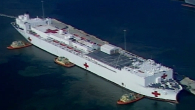 SD-Based Hospital Ship Mercy to Provide Aid to Philippines