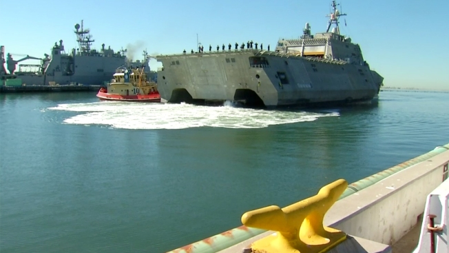 Navy's Newest Ship Homeports in San Diego