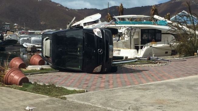 Scripps Ranch Family Shares Images of Irma Devastation on British Virgin Islands