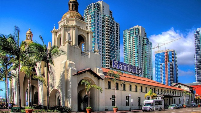 Downtown S Historic Santa Fe Depot Gets New Owner Nbc 7
