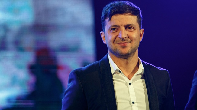 Comedian Leads Polls in Ukraine's Presidential Race