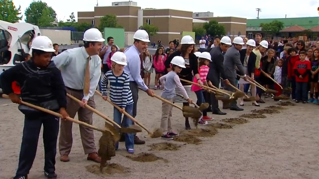 Ground Broke on New Joint-Use Park