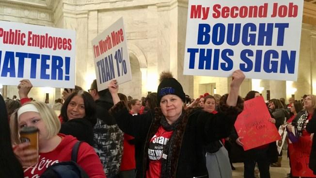 Despite Proposed Raise, West Virginia Teacher Walkout Not Over