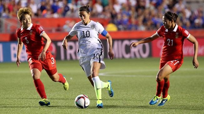 Women's World Cup: Carli Lloyd Leads U.S. Over China, 1-0