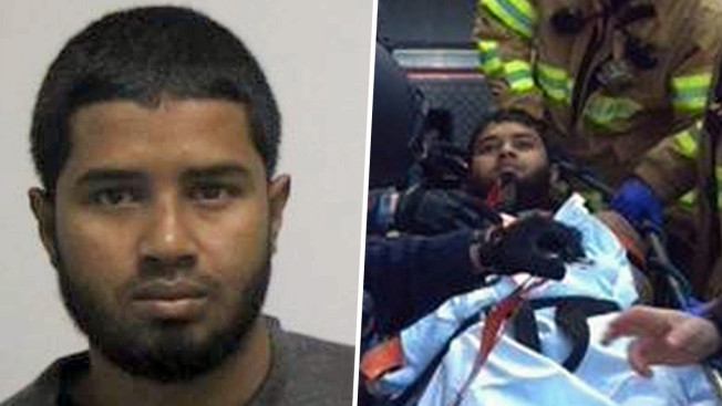 Port Authority bombing suspect pleads not guilty 'at this moment'