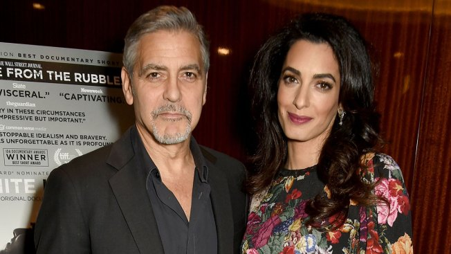 George Clooney Speaks About Amal's Pregnancy for First Time