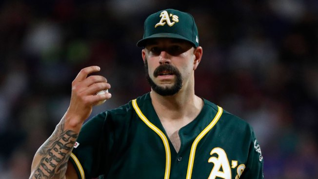 Why Oakland A's Pitcher Mike Fiers Played With Unusual Beard