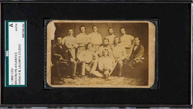 Pre-Civil War Baseball Card Goes for Over $100K at Auction