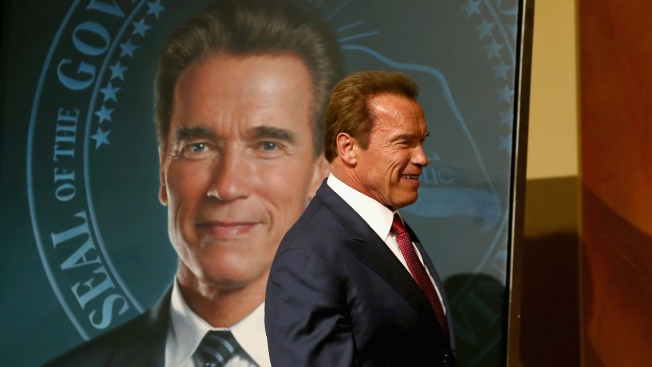 Arnold Schwarzenegger Portrait Goes Up at State Capitol