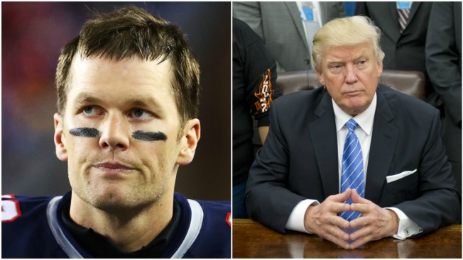 What's the Big Deal? Tom Brady Speaks on Friendship With Donald Trump