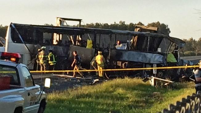 NTSB Issues Preliminary Report in Fatal California FedEx Truck, Bus Crash