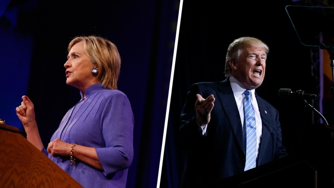 Trump, Clinton Call Each Other a National Security Danger