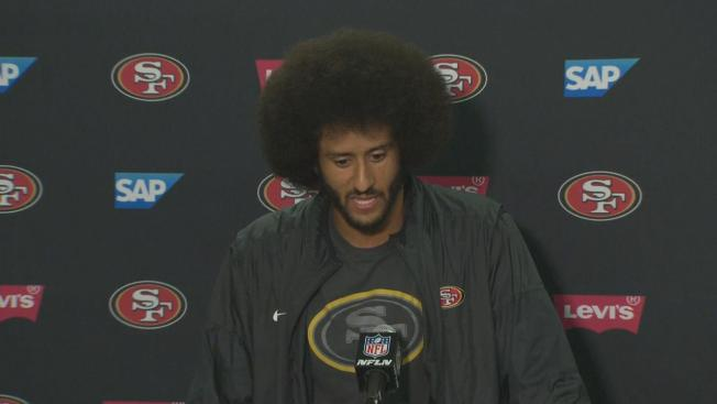 Colin Kaepernick Pledges $1 Million to Charity, Continues Anthem Protest
