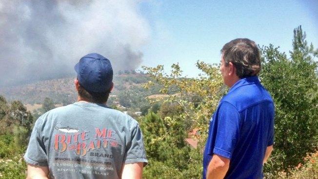 Defensible Space Saved Homes in San Diego Firestorm