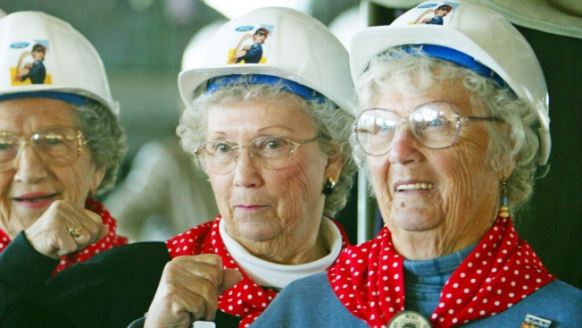 "Elderly ""Rosie the Riveters' Heading to D.C."