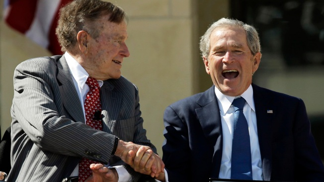 W. on H.W.: George W. Bush Writes Book About Father George H.W. Bush