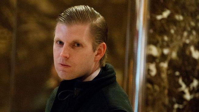 Eric Trump Calls Father's Critics 'Not Even People'