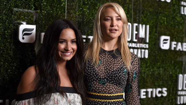 Demi Lovato, Kate Hudson Collaborate on Workout Clothes