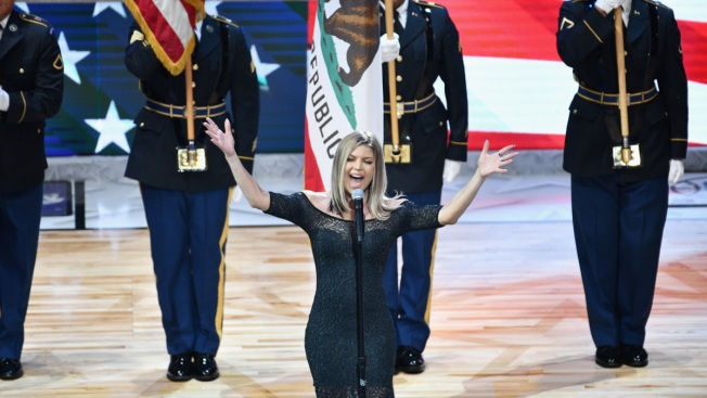 Fergie Apologizes for Poorly Received Rendition of National Anthem at NBA All-Star Game