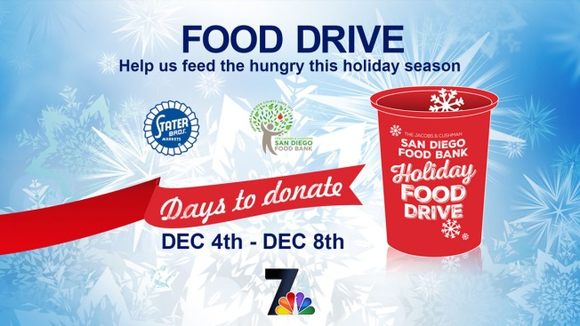 "San Diego Food Bank ""FOOD DRIVE"""
