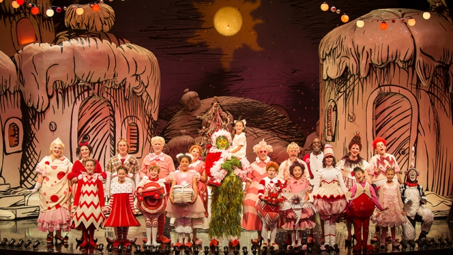 [G]PHOTOS: 'Dr. Seuss's How The Grinch Stole Christmas' Returns to Old Globe