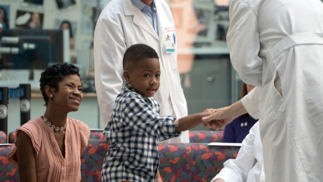 Philadelphia boy with double-hand transplant's next goal is to play football