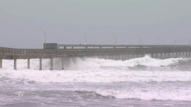 Ocean Beach Pier Reopens As Dangerous High Surf Subsides