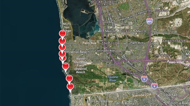 Sewage-Contaminated Runoff Closes Ocean Access in Imperial Beach