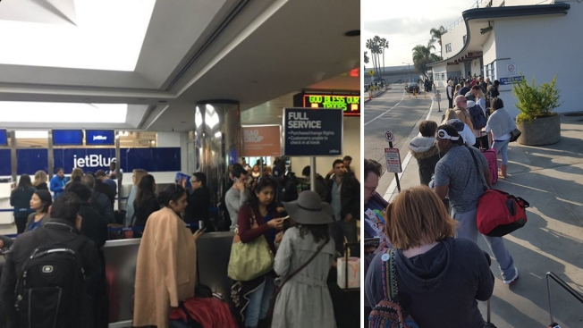 'Nightmare': JetBlue Outage Snarls Airports Across the Country
