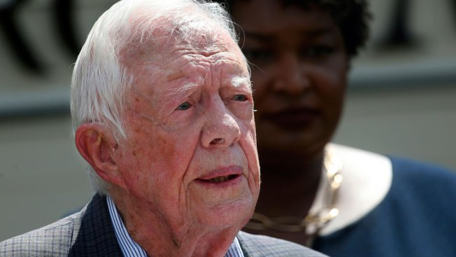 Jimmy Carter Says He Believes Trump Is 'Illegitimate President' Because of Russian Election Interference