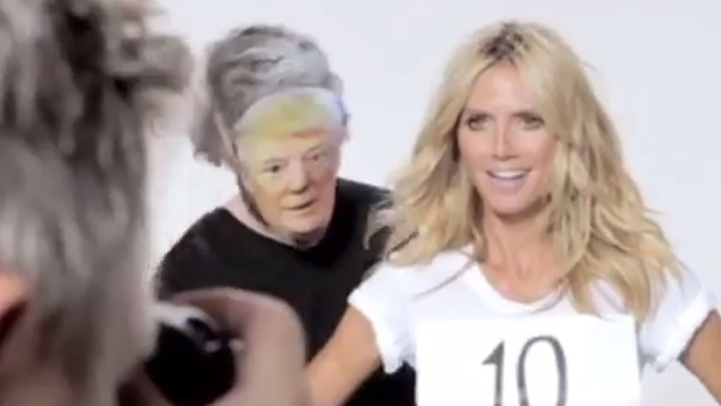 Heidi Klum Fires Back After Donald Trump Says 'She's No Longer a 10'