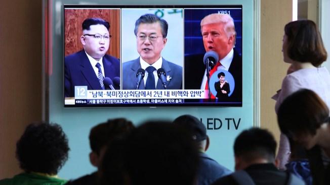 Korean Leaders Can Discuss Peace, But Can't End Korean War