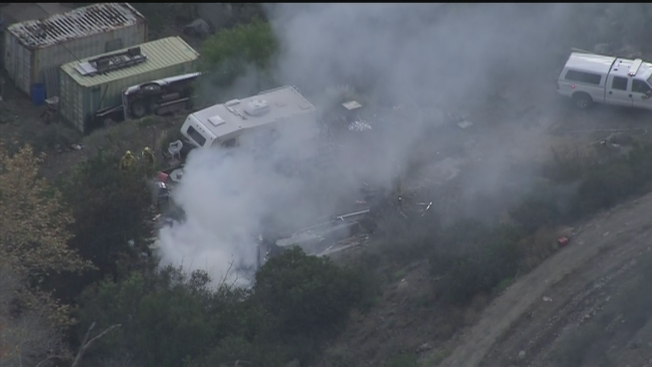 Crews Put Out Fire at Lakeside Outbuilding: SDFD