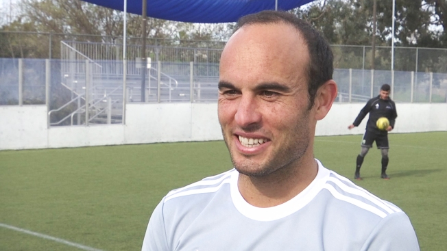 'Nice Not to Be Changing Diapers,' Dad and Soccer Star Landon Donovan on First Practice With San Diego Sockers