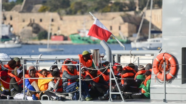 Malta: 4 EU Nations Will Take in 64 Migrants From Aid Ship