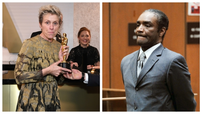 Man Accused of Stealing McDormand's Oscar Ordered to Trial