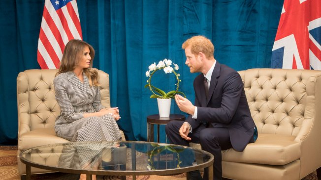 US First Lady, Prince Harry Meet Before Invictus Games