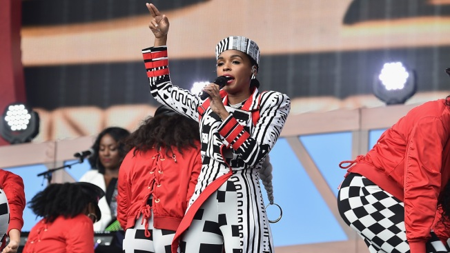 Janelle Monae, a Fallen Security Barrier and Other Top Moments From the 2018 Global Citizen Festival
