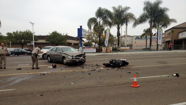 Man Killed in Spring Valley Motorcycle Crash