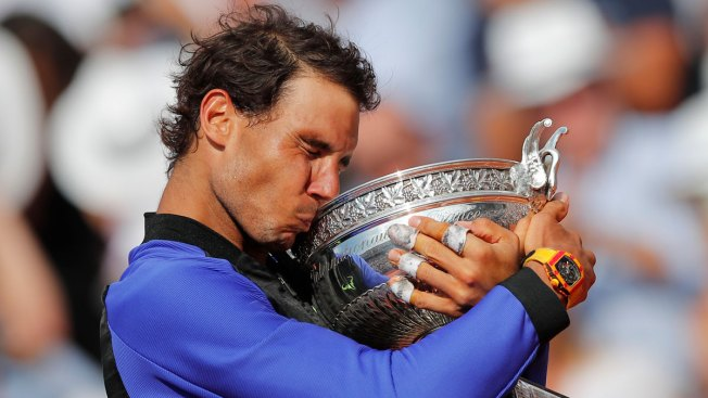 Perfect 10: Nadal Tops Wawrinka for Record 10th French Open