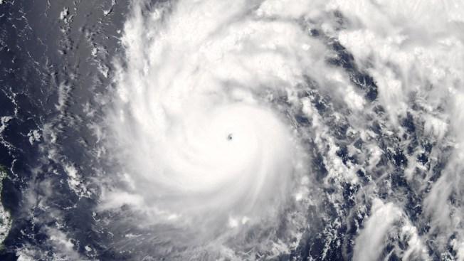 Powerful Typhoon Nepartak Takes Aim at Taiwan