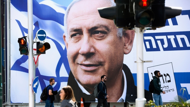 As Israelis Head to the Polls, It's All About Netanyahu
