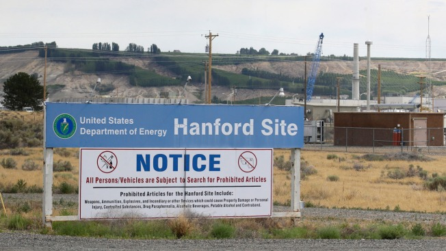 Hanford Nuclear Reservation tunnel collapse triggers alert