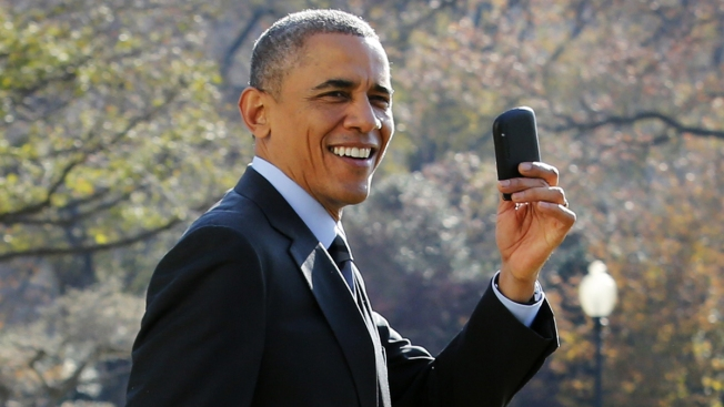 @POTUS Unscripted: Obama Shows a Looser Side on Twitter