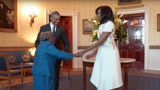 106-Year-Old White House Visitor's Video Goes Viral Online
