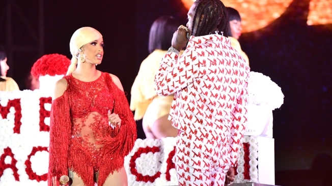 Offset Interrupting Cardi B's Set at Rolling Loud Draws Outrage