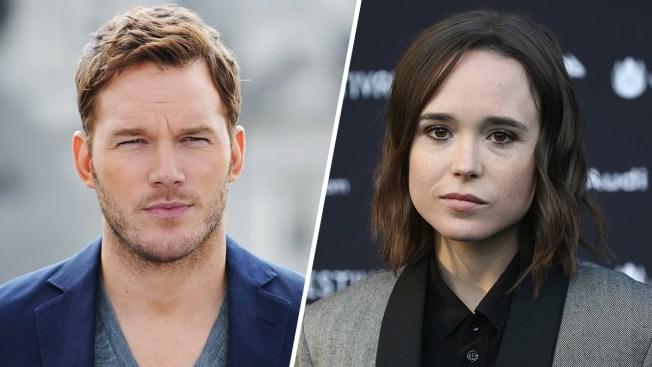 Chris Pratt Responds to Ellen Page's Claim About Belonging to Anti-LGBTQ Church