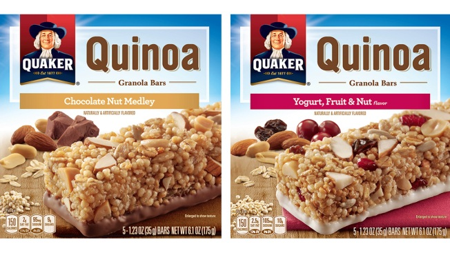 Quaker Quinoa Granola Bars Recalled Over Listeria Worries